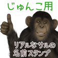 Junko Monkey's real name Sticker
