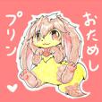 色鉛筆プリンチョスタンプ☆試作型