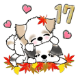 Shih Tzu dog (Autumn, Lover ver.) vol.17