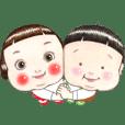 りんごちゃん&どんちゃん