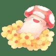 kinoko-chan watercolor