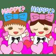ANDO HAPPY Sticker