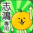 【志鴻】專用 名字貼圖 橘子