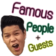 Famous People and guests