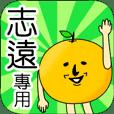 【志遠】專用 名字貼圖 橘子
