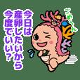 サンゴの妖精Sunnaちゃん(沖縄県恩納村)