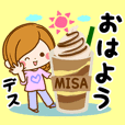 Sticker for exclusive use of Misa 2