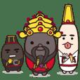 Three Kawaii characters #01