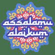 stiker salam sehari-hari
