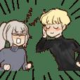 Yoshiro and Azazerru
