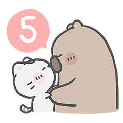 Mr. bear and his cutie cat 5 : You & Me