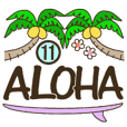 Hawaiian adult sticker11