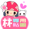 Love stickers ( LIN )