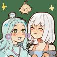 It's Silver and Luna