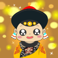Mi-Mi wears Qing Imperial Costumes