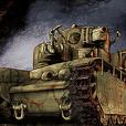 ソビエト軍戦車スタンプ