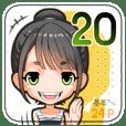 ガルスタ★20 短めポニテさんBANG