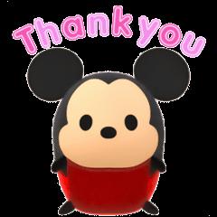 會動的!Disney TsumTsum