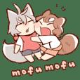 mofumofu-Sticker