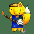 畫家狐-初登場