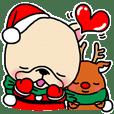 フレブルちゃんクリスマススタンプ2018