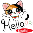 MI-KE cat Sticker part6 (English)