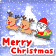 動く!クリスマス&年末年始☆デカ文字