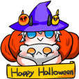 May's mystery little world-Halloween
