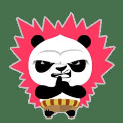 Kung Fu Panda Kawaii Line Stickers Line Store