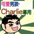 the cute boy-Charlie