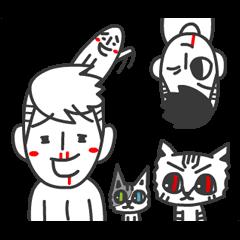 爵爵&貓叔(動不停)