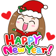 cutiv Happy New Year and Christmas