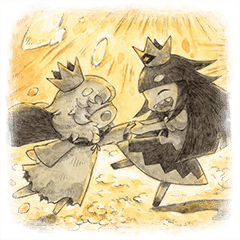 Liar princess Stickers 2