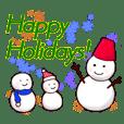 Season's Greeting in Japanese & English
