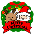 Various sticker of Christmas2