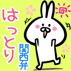 はっとり用♪面白い関西弁ウサギ♪