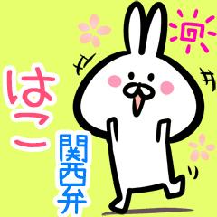 はこ用♪面白い関西弁ウサギ♪