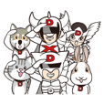 Daiwaman Sticker