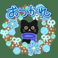 大人かわいい冬黒猫♥使いやすい!便利♥