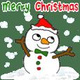 Snow man-Merry Christmas