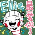 Ellie's sticker