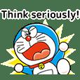 Stiker Doraemon Bergerak