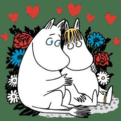 Moomin動態貼圖