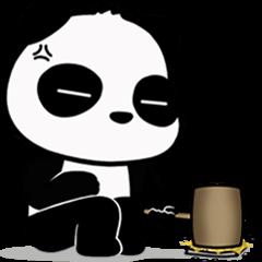 Annoying Panda : Animated Stiker