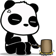 Annoying Panda : Animated Stiker