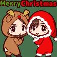 動く!着ぐるみツインズ(クリスマス編)