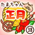【たまちゃん】専用38<お正月>2019亥年