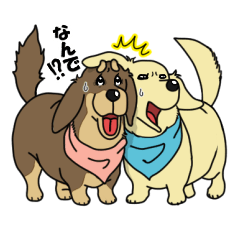 BROTHER DOGS OFFICIAL STICKER