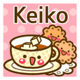 "Use the stickers everyday ""Keiko"""