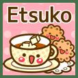 """Use the stickers everyday """"Etsuko"""""""